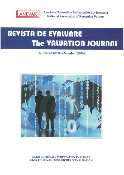 Revista de Evaluare - Volumul (1)