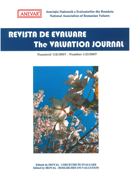 Revista de Evaluare - Volumul (2)