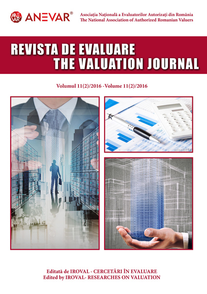 Revista de Evaluare - Volumul 11 (2)