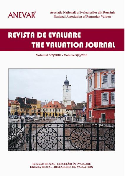 Revista de Evaluare - Volumul 5 (2)